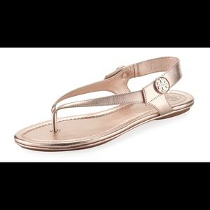 Brand new Tory Burch Minnie Travel Sandal